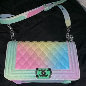 Chanel Multi Color Purse